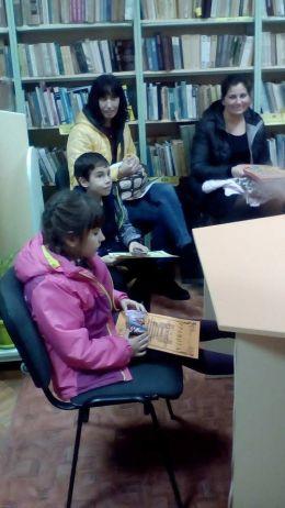 """Читател на 2017 година в библиотеката при НЧ """"Съгласие-1890"""" - гр. Каварна - Изображение 3"""